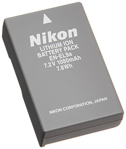 Nikon En EL9a Rechargeable Li ion Battery