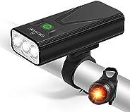 EBUYFIRE USB Rechargeable Bike Light Set, Ultra Bright LED Bike Lights Front and Back, 3 Light Mode, Most Powe