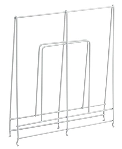 HomyDelight Large White Wire Shelf Divider 2.5 lbs 2'' 12'' 10.5'' by HomyDelight