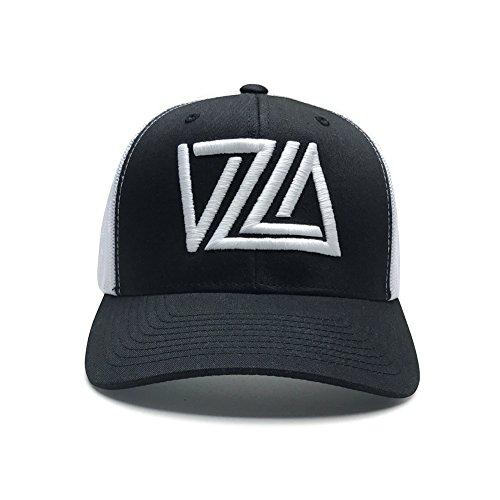 WUE Venezuela Snapback Baseball Cap VZLA Design (Trucker Black/White)