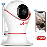 HD 1080P 360 Home Wireless Security Dome IP Camera with 3D Navigation Panorama View Night Vision Two-Way Audio, Motion Detection, Indoor Surveillance for Home, Baby, Elder, Pet