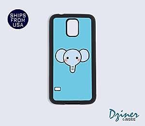 Galaxy S4 Heavy Duty Tough Case Cover - Baby Cute Elephant