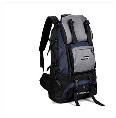 BUSL Aumentan al aire libre los hombres y mujeres del morral del recorrido del alpinismo del bolso de hombro del bolso del ordenador 60L Senderismo . h e