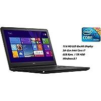 Dell Inspiron 15 5000 Series I5558-2571BLK 15.6-Inch HD Laptop (5th Generation Intel i7-5500U Processor, 6GB RAM, 1TB HDD, Windows 8.1), Black