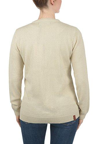 BLEND SHE Nena - Cardigan da Donna, taglia:XXL;colore:Bone White (70016)