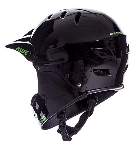 AWE FREE 5 YEAR CRASH REPLACEMENT Full Face Helmet Black Large by AWE (Image #4)