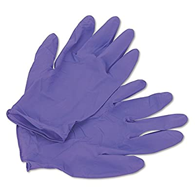 Halyard Health Nitrile Powder Free Exam Gloves, Disposable, Purple