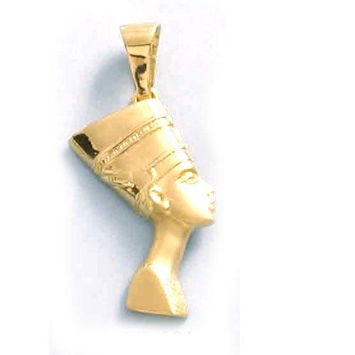 LIOR - Pendentif Or jaune 750/1000 (18kt) Nefertiti