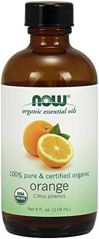 NOW Foods Organic Essential Oil, Orange/Citrus, 4 Ounce