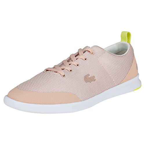 Lacoste Avenir 218 1 Womens Trainers Blush Pink - 8 UK]()