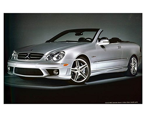 2007-mercedes-benz-clk63-amg-cabriolet-automobile-photo-poster