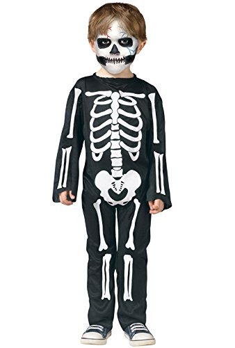 Scary Skeleton Toddler Costume -