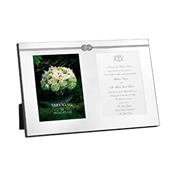 wedgwood vera wang vera infinity double invitation frame