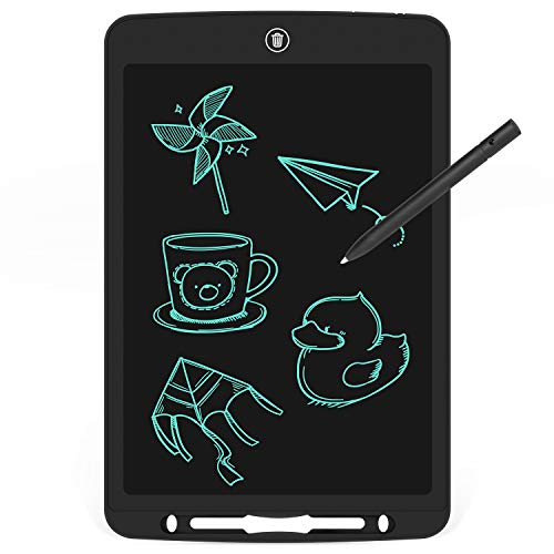 Color : Pink , Size : 10 inches LCD Writing Tablet 10 Inch LCD Portable Tablet Electronic Blackboard Children Intelligent Graffiti Painting Board for Friends Birthday Home Office Speech Difficulti