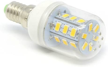 7W E14 24-SMD Corn LED 5730 LED Lights Lamp Bulb AC-220V Cool White