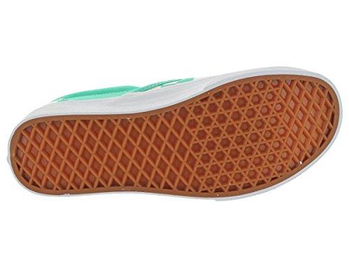 Slips On Vans Classic Slip-On Slip blanco y azul Aqua Green/White