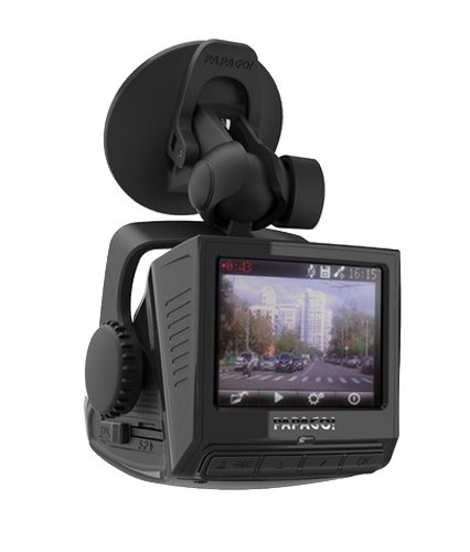 PAPAGO P3-US P3 Full HD 1080P Dashcam with Built-In GPS and