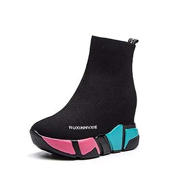 AJUNR Transpirable Zapatos de Mujer Calcetines Zapatos Casual Entertainment Super Fire y transpirabilidad y Zapatos Deportivos