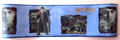 Potter Harry Border - Harry Potter Chamber of Secrets Warner Brothers Wallpaper Border