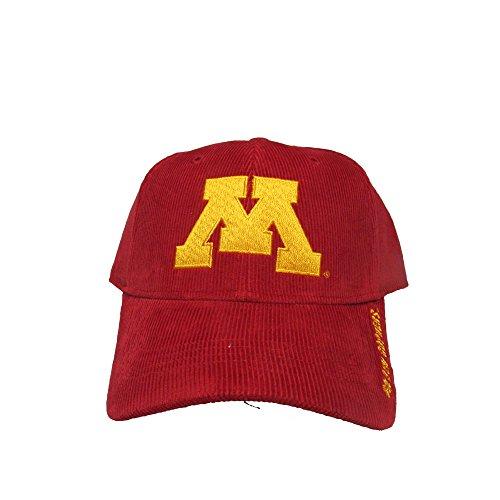 University of Minnesota Golden Gophers Gold Logo College Team Strap Back Dad Hat Cap