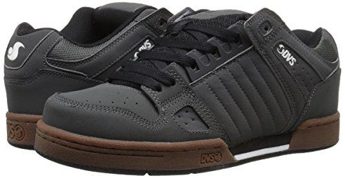 DVS Skateboard Shoes CELSIUS GRAY/BLACK Size 8