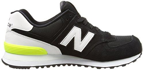 Black Sneakers Low Balance Suede Black Top Women's 574 New ZWH0qRCfw
