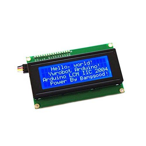 DAOKI IIC/I2C/TWI 2004 LCD Blue White Backlight LCD Module Shield 20X4 Character LCD Module for Arduino UNO MEGA R3