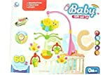 New Honey Bee And Cartoons Series Musical Baby Cradle Hanging Toys Rotating Music Cradle Toy - New born baby Revolving Cradle Toy Set