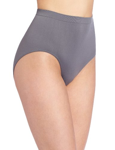 Floral Suit Satin Skirt (Bali Women's Comfort Revolution Seamless Brief Panty, Excalibur, 10/11)