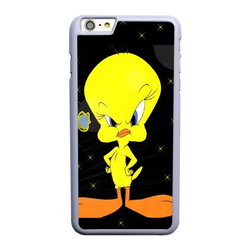 Coque,Apple Coque iphone 6 6S (4.7 pouce) Case Coque, Generic Angry Tweety Bird Cover Case Cover for Coque iphone 6 6S (4.7 pouce) blanc Hard Plastic Phone Case Cover