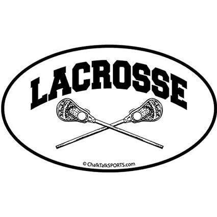 63651a14c9c9 Amazon.com  ChalkTalkSPORTS Guys Lacrosse Car Magnet