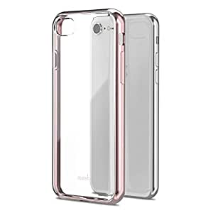 MoshiVitros case for apple iPhone 8/7 - Shockproof, Drop Protection - Antiscratch - Wireless Charging Compatible Mobile Cover - Rose Gold
