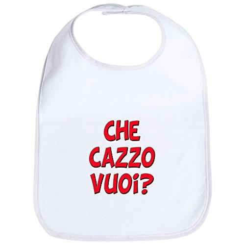 bc0c34dc3a073 CafePress - italian Che Cazzo Vuoi Bib - Cute Cloth Baby Bib, Toddler Bib