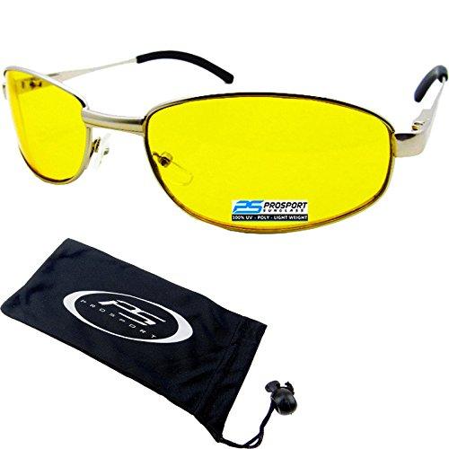 YELLOW Glasses Night Driving Glare
