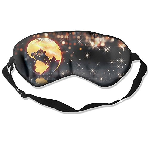 Eye Mask Eyeshade Earth Background Loop Animation Sleep