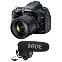 Nikon D610 FX-format Digital SLR Camera Kit with AF-S NIKKOR 24-85mm f/3.5-4.5G ED VR Lens - with Rode Microphones VideoMic Pro R Cardioid Condenser Microphone