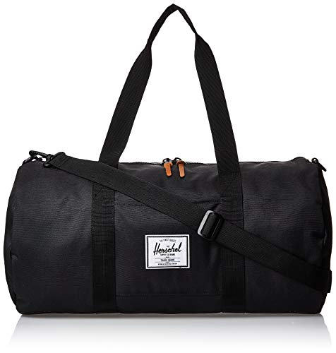 Herschel Sutton Mid-Volume Duffle Bag-Black Duffel, One Size