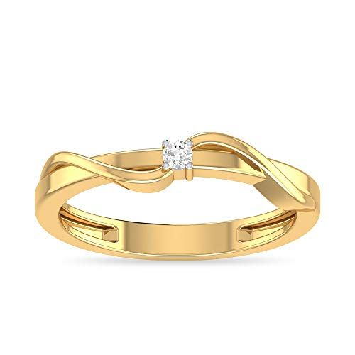 PC Jeweller The Naveah 18KT Yellow Gold   Diamond Rings