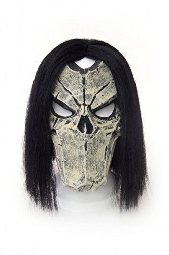 [Nordic Games Darksiders 2 Latex Death Mask] (Larp Costumes Uk)