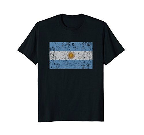 Mens Argentinian Flag Bandera Argentina Sun of May T Shirt Large - Argentina Sun