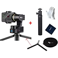 Feiyutech WG2 3-Axis IP67 Waterproof Wearable Gimbal for GoPro HERO5 HERO4 Session AEE SJCam and Other Similar-Sized Action Cameras Including Mini Tripod Stand and Extension Pole