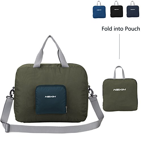 HEXIN Medium Duffle Bag for Men&Women