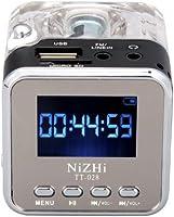 Black NiZHi TT-028 MP3 Mini Digital Portable Music Player Micro SD USB FM Radio