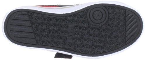 Puma Puma S Vulc V Unisex-Kinder Sneakers Rot (high risk red-black-gray 29)