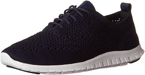 Cole Haan Women's Stitchlite Oxford, Marine Blue, 7 B US by Cole Haan