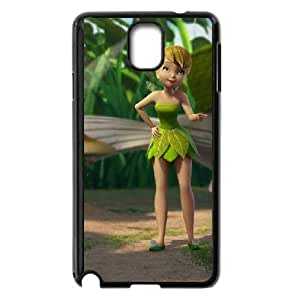 Samsung Galaxy Note 3 Phone Case Cover Black Tinker Bell and the Great Fairy Rescue4 EUA15985393 Personalized Phone Case For Boys