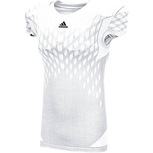 Adidas Herre Techfit Primeknit Fodboldtrøje Wht 6PDJn2wF8