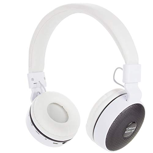 Granvela Hi Resolution FM Radio Headphones with MicroSD/TF Card Mp3 Player and 3.5mm AUX Cable
