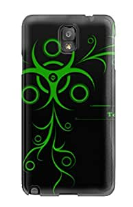 Fashion Tpu Case For Galaxy Note 3- Biohazard Technologies Defender Case Cover by lolosakes