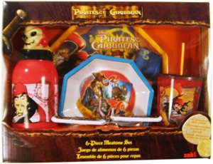 Meal Set Disney Pirates Of The Caribbean 6 Piece (Meal Time)   B0016D38TK